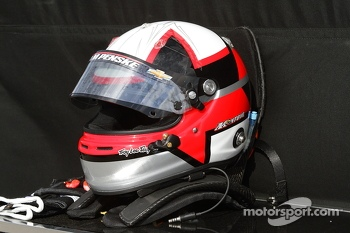 The helmet of Juan Pablo Montoya