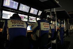 Toyota Racing pit gantry