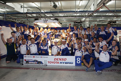 Toyota Racing celebrates victory