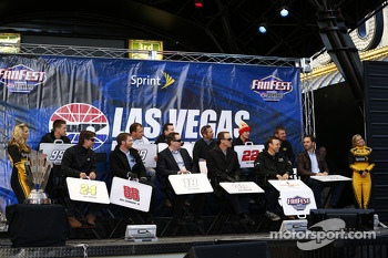 Chase drivers at Fanfest