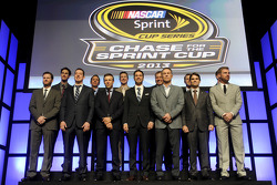 The top 13 NASCAR Sprint Cup Series drivers