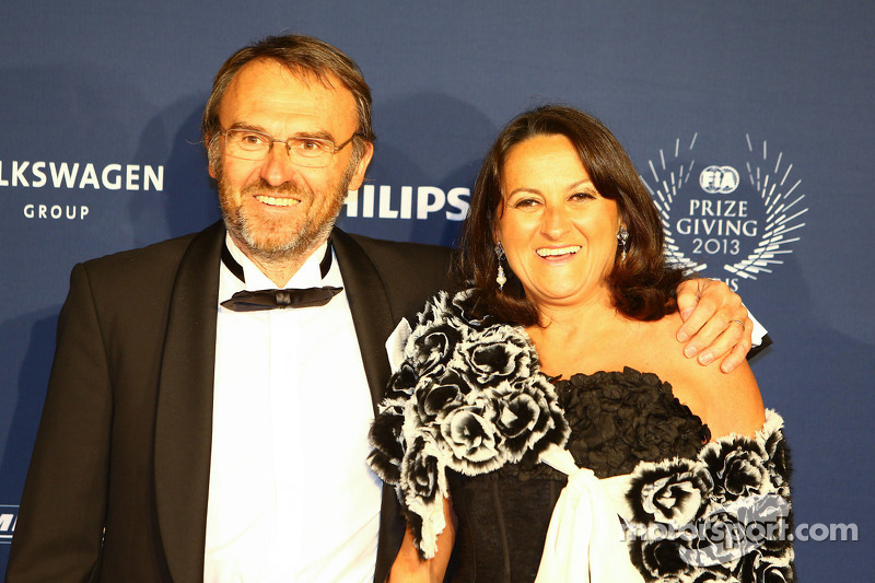 Denis Chevrier, and his wife