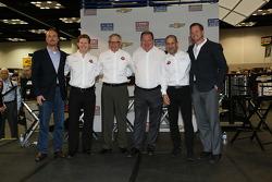 Target Chip Ganassi Racing team photo