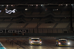 #3 Team Abu Dhabi by Black Falcon Mercedes SLS AMG GT3: Khaled Al Qubaisi, Bernd Schneider, Jeroen Bleekemolen takes the win