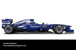 Retro F1 car - Prost 1998