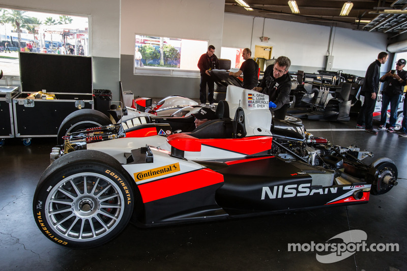 #6 Pickett Racing ORECA Nissan