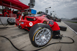 Scuderia Corsa team member at work
