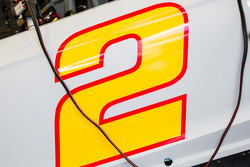 #2 on the Team Penske Ford