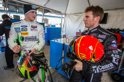 Sage Karam and Jamie McMurray