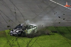 Jimmie Johnson, Hendrick Motorsports Chevrolet crashes