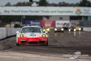 #13 Rum Bum Racing / Snow Racing Porsche 911 GT America: Madison Snow, Jan Heylen, Matt Plumb