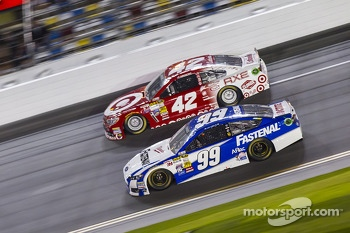 Carl Edwards and Kyle Larson