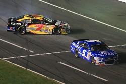 Michael Annett, Tommy Baldwin Racing Chevrolet spins