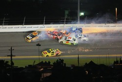 Wreck in turn 3