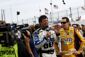 Michael Waltrip, Michael Waltrip Racing Toyota with Kyle Busch, Joe Gibbs Racing Toyota