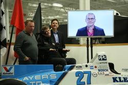 Jacques Villeneuve's Indy 500 teleconference