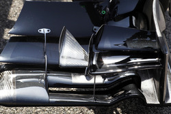 McLaren MP4-29 front wing detail