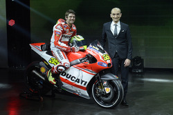 Ducati press conference, Cal Crutchlow