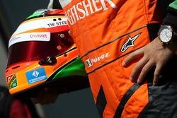 Sergio Perez (MEX), Sahara Force India  13