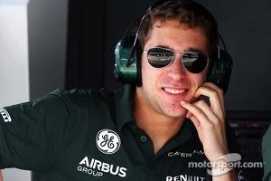 Alexander Rossi, Caterham F1 Reserve Driver