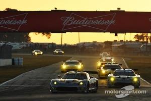 #93 SRT Motorsports SRT Viper GTS-R: Jonathan Bomarito, Rob Bell, Kuno Wittmer
