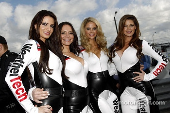 The lovely WeatherTech girls