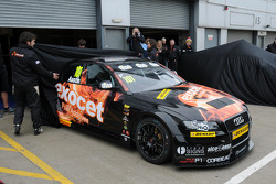 The unveiling of Rob Austin Exocet Racing Audi A4
