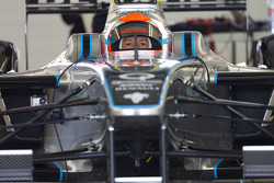 FORMULA-E: Jarno Trulli tests the Spark-Renault SRT-01E
