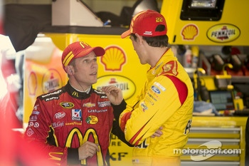 Jamie McMurray and Joey Logano