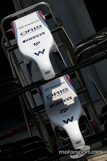 Williams F1 Team front wings