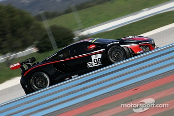 #98 ART Grand Prix McLaren GT3 MP4-12C: Ricardo Gonzalez, Yann Gouday