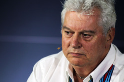 F1: Pat Symonds, Williams Chief Technical Officer in the FIA Press Conference