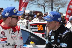 Mads Ostberg and Mikko Hirvonen