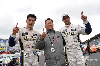 GT500 winners Daizuke Ito and Andrea Caldarelli