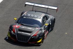#4 Belgian Audi Club Team WRT Audi R8 LMS Ultra: Christian Kelders, Yves Weerts, Jean-Luc Blanchemain