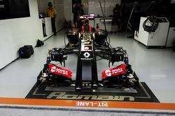 Lotus F1 E22 for Romain Grosjean, Lotus F1 Team