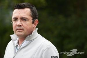 Eric Boullier, McLaren Racing Director.