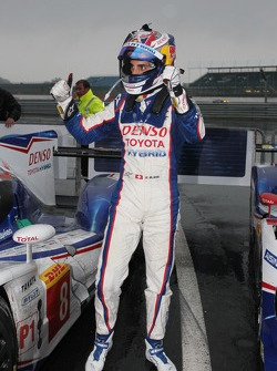 Race winner Sebastien Buemi