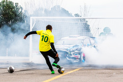 Ken Block and Neymar Jr. in Footkhana