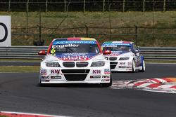 Franz Engstler, BMW 320 TC, Liqui Moly Team Engstler and Pasquale di Sabatino, BMW 320 TC, Liqui Moly Team Engstler