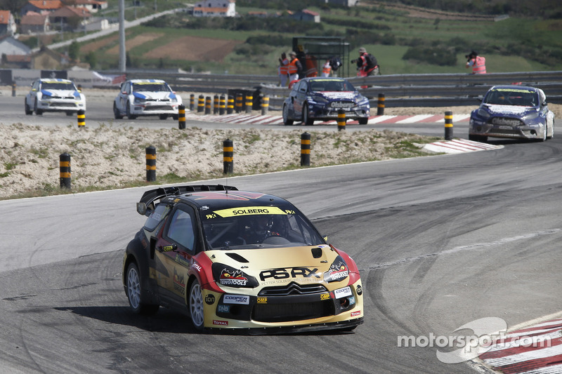 petter solberg world rx portugal photos world rallycross. Black Bedroom Furniture Sets. Home Design Ideas
