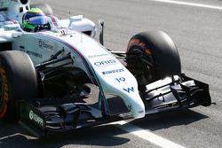 Felipe Massa, Williams FW36 front wing
