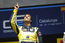 Race winner Felipe Nasr