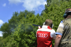 Skeet Shooting with Mattias Ekstrom, Audi Sport Team Abt Sportsline, Audi RS 5 DTM, Portrait