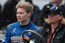 INDYCAR: Josef Newgarden and Sarah Fisher