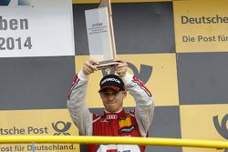 Podium, 3rd Edoardo Mortara, Audi Sport Team Abt Audi RS 5 DTM