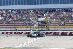 Sam Hornish Jr. takes the win