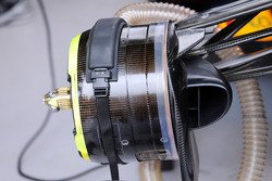 F1: Red Bull Racing RB10 brake detail