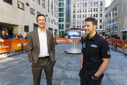 Marco Andretti and Kurt Busch on the Today Show
