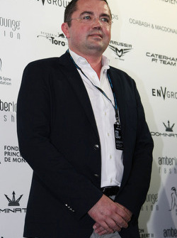Eric Boullier, McLaren Racing Director at the Amber Lounge Fashion Show